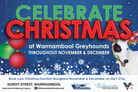 Celebrate Christmas at Warrnambool Greyhounds