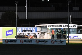 Monday night greyhound racing comes to Warrnambool