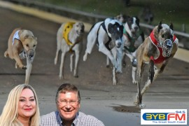 GRV Chair talks greyhounds with Denis Napthine